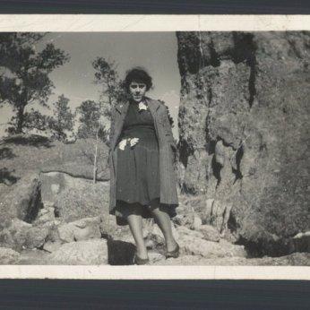 My grandma Della before she had children